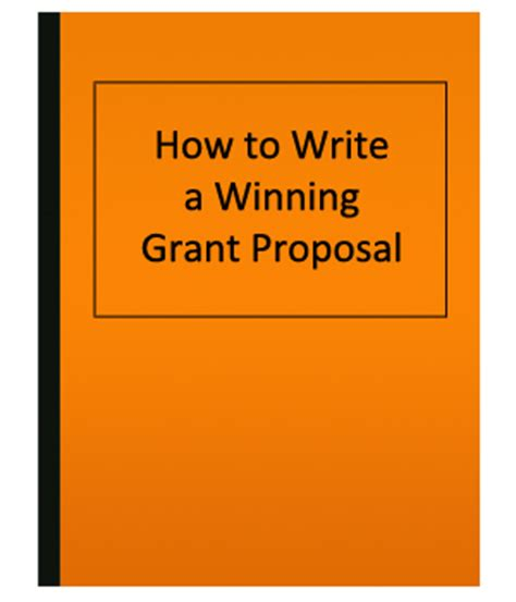 Cover letter proposal grant